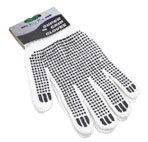 cotton grip gloves